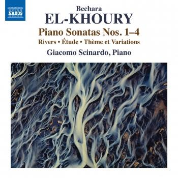 Cover Bechara El-Khoury: Works for Piano