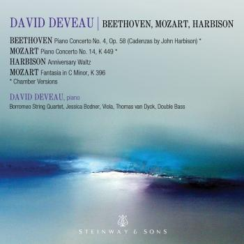 Cover Mozart, Beethoven & Harbison: Works Featuring Piano