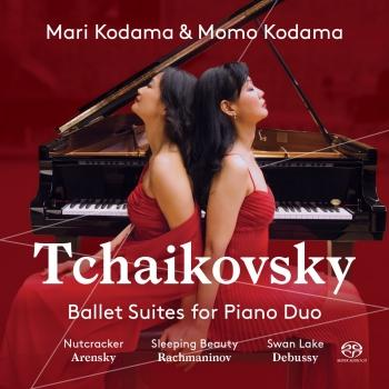 Cover Tchaikovsky: Ballet Suites Transcribed for Piano Duo / Nutcracker, Op. 71 / Sleeping Beauty, Op. 66 / Swan lake, Op. 20