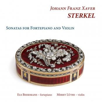 Cover Sterkel: Sonatas for Fortepiano and Violin