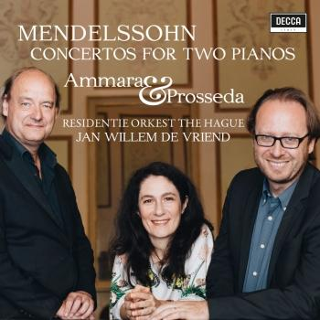 Cover Mendelssohn: Concertos For Two Pianos MWV O 5 and 6