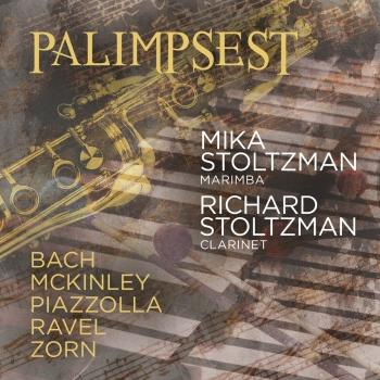 Cover Palimpsest: Bach, Mckinley, Piazzolla, Ravel