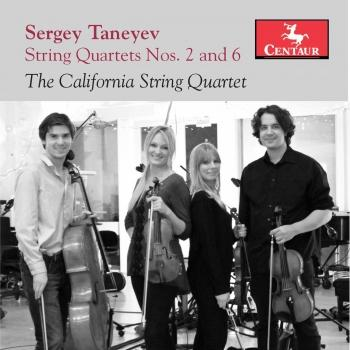 Cover Taneyev: String Quartets Nos. 2 & 6
