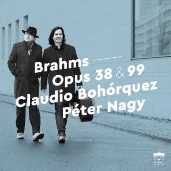 Cover Brahms: Opus 38 & 99 (Sonatas for Piano and Cello)