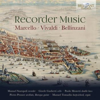 Cover Marcello, Vivaldi & Bellinzani: Recorder Music