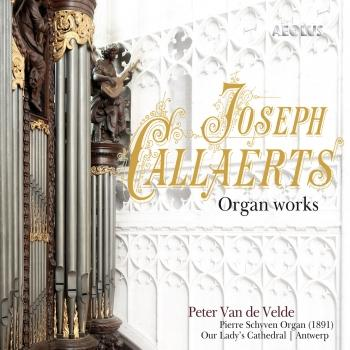 Cover Joseph Callaerts: Organ works