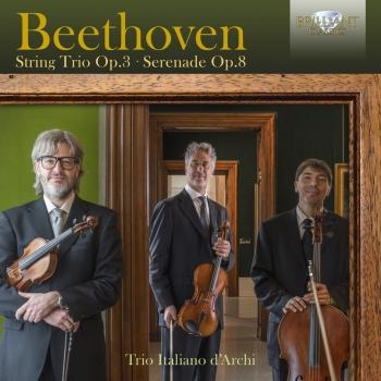Cover Beethoven: String Trio, Op. 3, Serenade, Op. 8