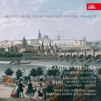 Cover Prague-Viena - Journey in Songs, Music from Eighteenth-Century Prague