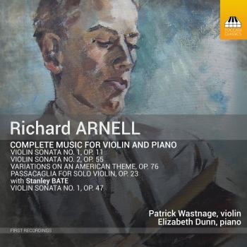 Cover Arnell: Complete Music for Violin & Piano