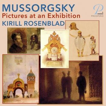 Cover Modest Mussorgsky: Pictures at an Exhibition