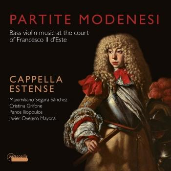 Cover Partite Modenese : Bass violin music at the court of Francesco II d'Este
