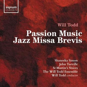 Cover Will Todd: Passion Music & Jazz Missa Brevis