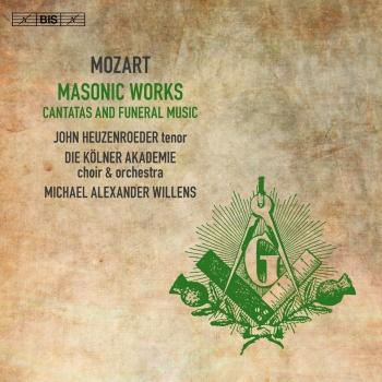Cover Mozart: Masonic Works – Cantatas & Funeral Music