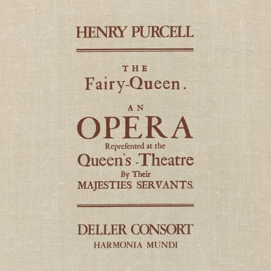 Cover Purcell: The Fairy Queen (Remastered)