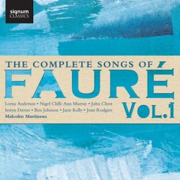 Cover The Complete Songs of Fauré, Vol. 1