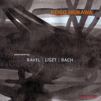 Cover J.S. Bach, Liszt & Ravel: Piano Works