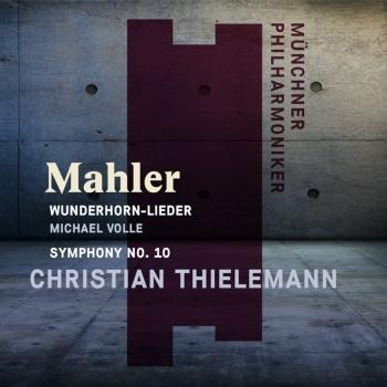 Cover Mahler: Wunderhorn-Lieder and Symphony No. 10