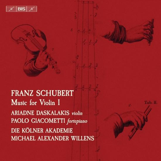Cover Schubert: Music for Violin, Vol. 1