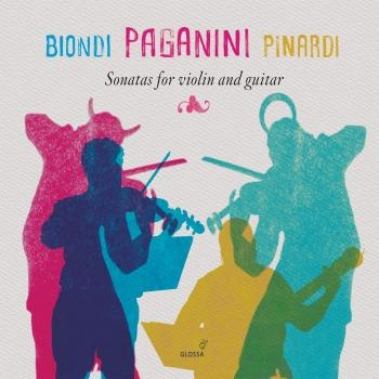 Cover Paganini: Sonatas for Violin & Guitar