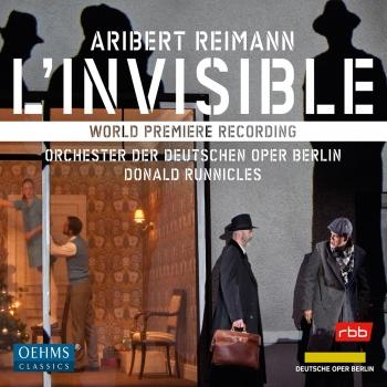 Cover Aribert Reimann: L'invisible (Live)