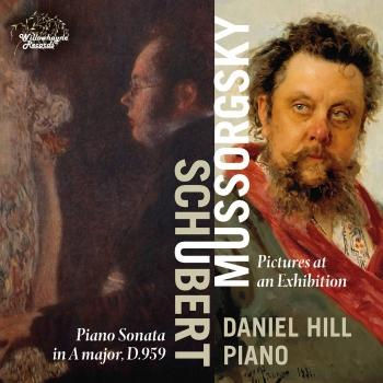 Cover Schubert: Piano Sonata No. 20, D. 959 - Mussorgsky: Pictures at an Exhibition