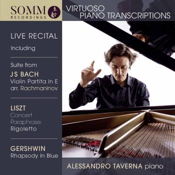 Cover Virtuoso Piano Transcriptions (Live)