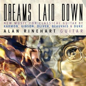 Cover Dreams Laid Down: New Music for Classical Guitar