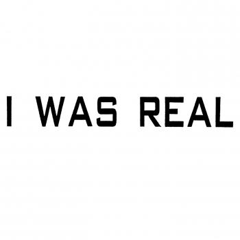 Cover I Was Real