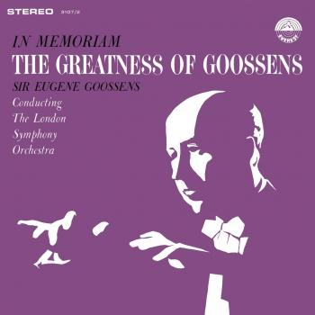 Cover In Memoriam - The Greatness of Goossens (Remastered)
