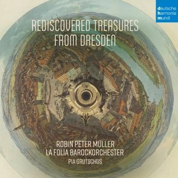 Cover Rediscovered Treasures from Dresden