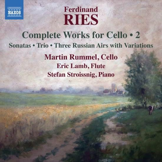 Cover Ries: Complete Works for Cello, Vol. 2