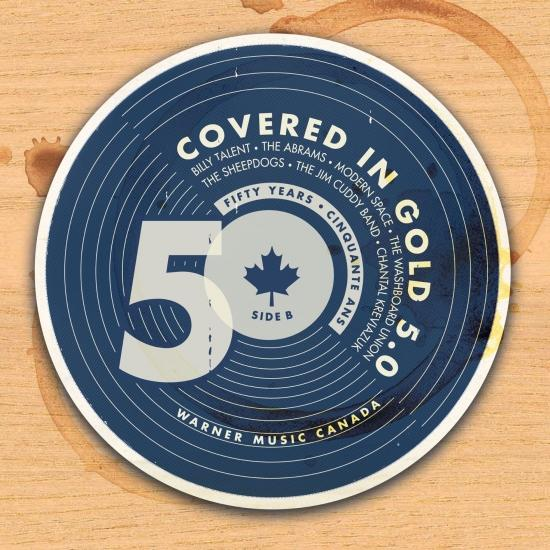 Cover Covered in Gold: 5.0, Side B