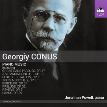 Cover Conus: Piano Music