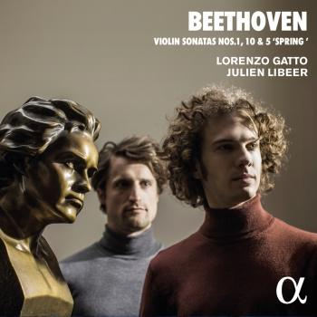 Cover Beethoven: Violin Sonatas No. 1, 10 & 5 'Spring'