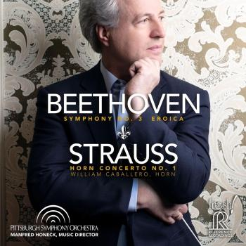 Cover Beethoven: Symphony No. 3, Op. 55 'Eroica' - Strauss: Horn Concerto No. 1, Op. 11 (Live)