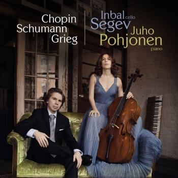 Cover Works for Cello and Piano by Chopin, Schumann and Grieg