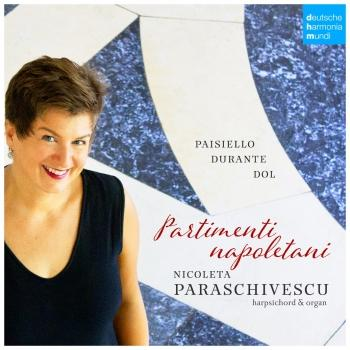 Cover Partimenti Napoletani. Music for Keyboard Instruments by Paisiello, Durante & Dol