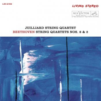 Cover Beethoven: String Quartet No. 8 in E Minor, Op. 59 No. 2 'Rasumovsky' & String Quartet No. 2 in G Major, Op. 18 No. 2 (Remastered)