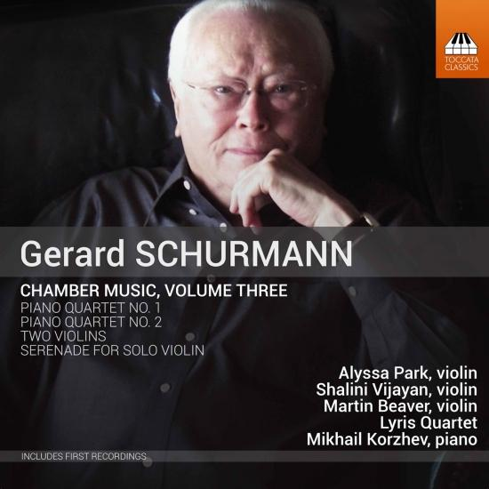 Cover Gerald Schurmann: Chamber Music, Vol. 3